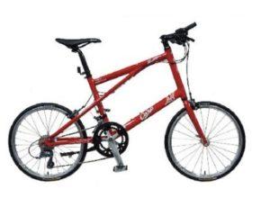 カープ仕様の自転車